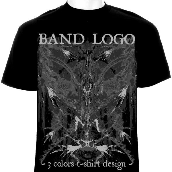 3 Colors T Shirt Satanic Black Metal For Sale By
