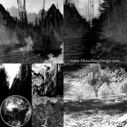 Black metal full cd album layout available design by MOONRINGDESIGN
