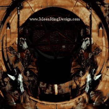 Satanic Black Metal Front Cover for Sale by MOONRINGDESIGN