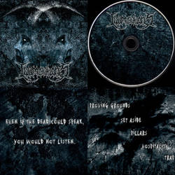 Illuminations Extreme Metal USA Full CD Album Art by MOONRINGDESIGN