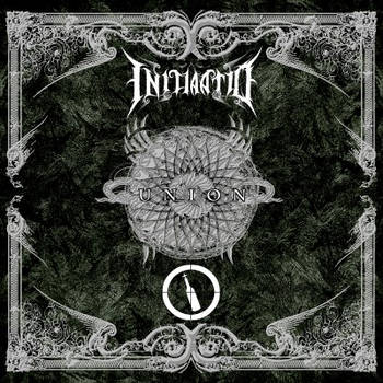 Initiaatio NDS metal rock front album cover design by MOONRINGDESIGN