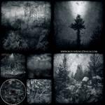 6 pages CD image Black Dark Metal CD album cover