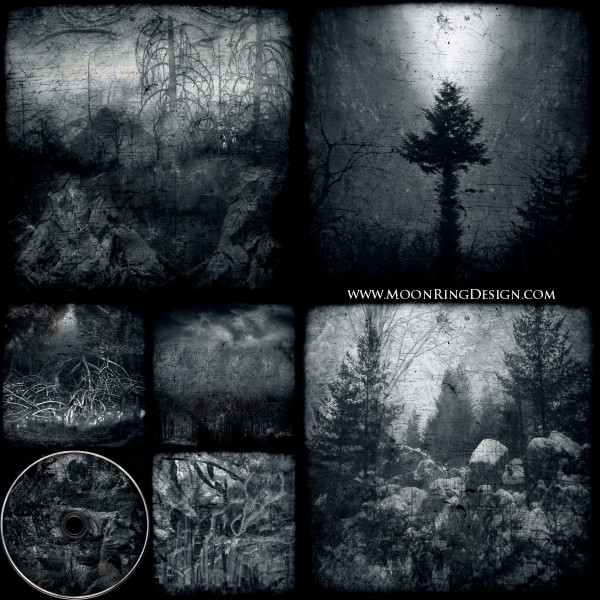 6 pages CD image Black Dark Metal CD album cover by ...