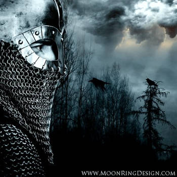 Battle Metal Front CD Album Cover Artwork for sale by MOONRINGDESIGN