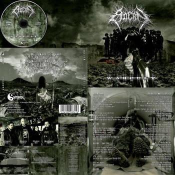 Adern Death Metal France cd album artwork design by MOONRINGDESIGN