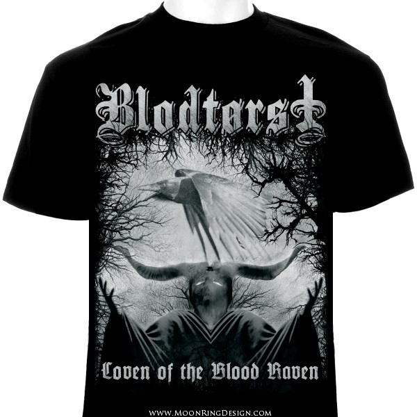 Blodtorst Black Metal Usa Custom Band T Shirt Art By