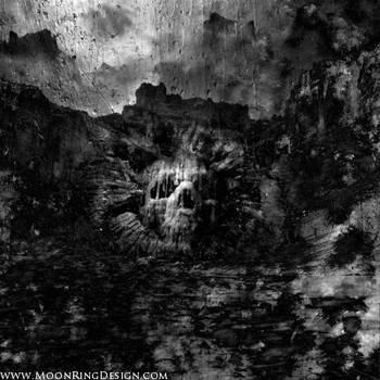 Darkest-cave-black-death-thrash-metal-front-cover- by MOONRINGDESIGN