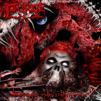 Red-skull-extreme-thorns-metal-cd-cover-for-sa by MOONRINGDESIGN
