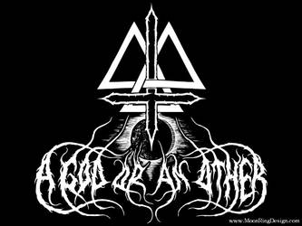 A-god-or-an-other-experimental-black-metal-usa by MOONRINGDESIGN