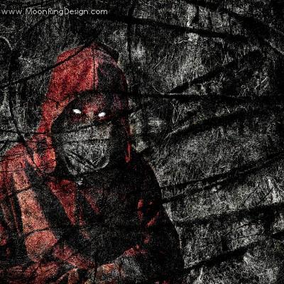 Red-hooded-figure-black-thrash-death-metal-cov by ...