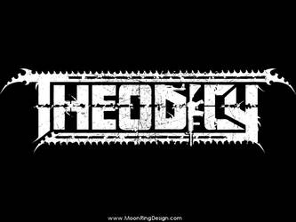 Theodicy-death-metal-germany-custom-band-logo by MOONRINGDESIGN