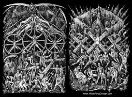 Custom-drawings-black-metal-style-artwork-hand