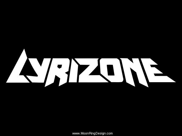 Lyrizone-usa-hip-hop-rap-logo-custom-font-grap