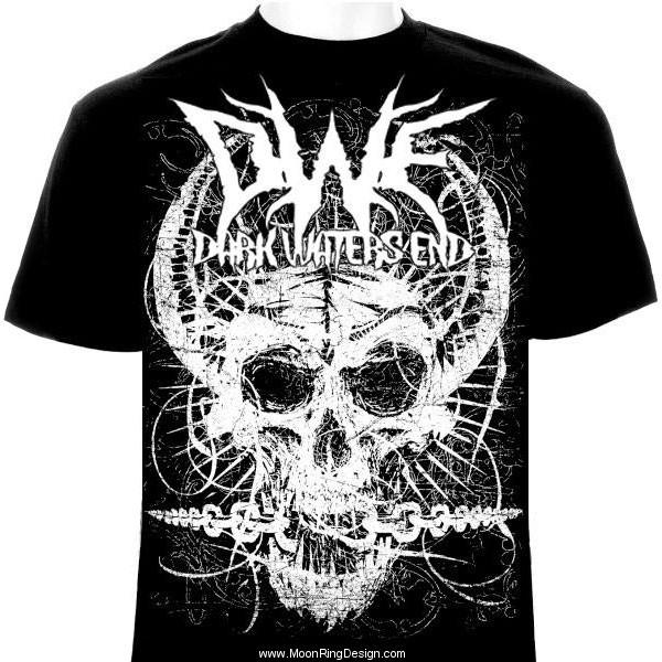 Skull Chainsbreaker T Shirt Metal Rock Design By