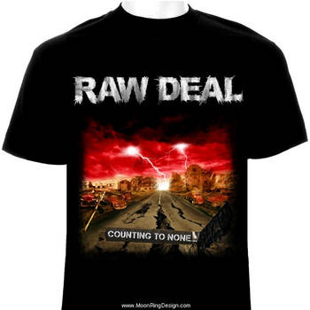 Raw-deal-hard-rock-metal-england-t-shirt-desig by MOONRINGDESIGN