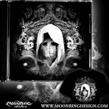Angel-of-death-black-metal-thrash-cover-heavy-artw by MOONRINGDESIGN