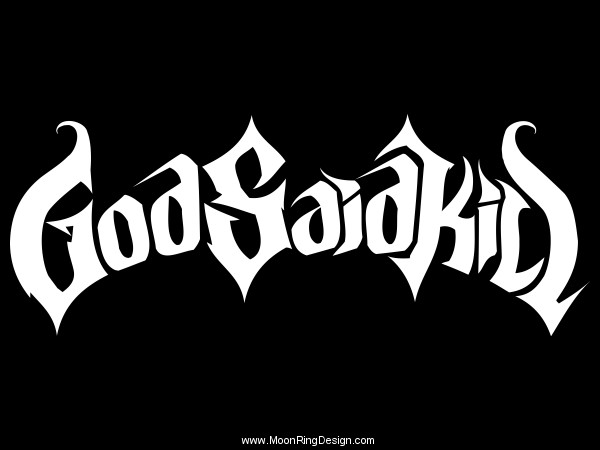 god said kill canada melodic death metal band logo by moonringdesign rh moonringdesign deviantart com Band Extreme Album Foreigner Band Logo