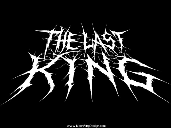 The Last King Deathcore Usa Band Logo Logotype