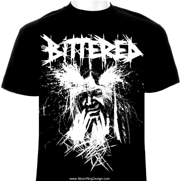 Bittered Doom Grind Usa T Shirt Design Artwork Gra By