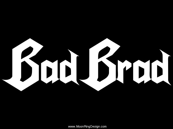 Bad-brad-hard-rock-heavy-metal-band-logo-graphic-l by ...