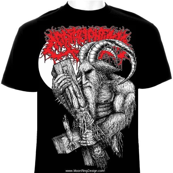 Metal Band Shirt Designs For Sale