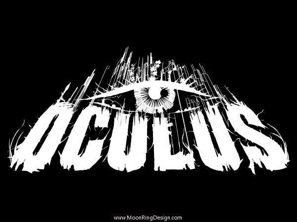 Oculus heavy metal norway band logo design artwork by