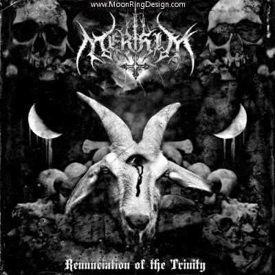 Merihim-black-metal-usa-front-cover-artwork-design by MOONRINGDESIGN