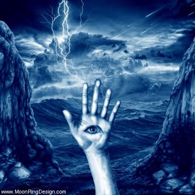 A-hand-eye-black-death-dark-metal-heavy-doom-cover by MOONRINGDESIGN