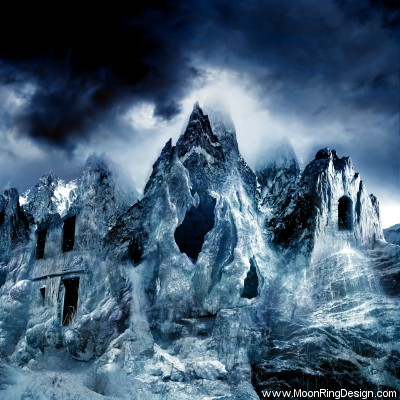 Frost-black-death-dark-atmospheric-metal-cover-alb by MOONRINGDESIGN