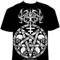 Kaiserreich-italy-black-metal-t-shirt-design-artwo by MOONRINGDESIGN