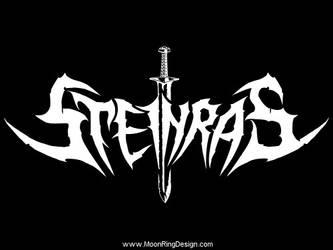 Steinras-black-metal-norway-band-logo-design-artwo by MOONRINGDESIGN