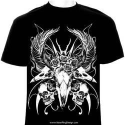 Black-death-metal-heavy-t-shirt-design-image-graph by MOONRINGDESIGN