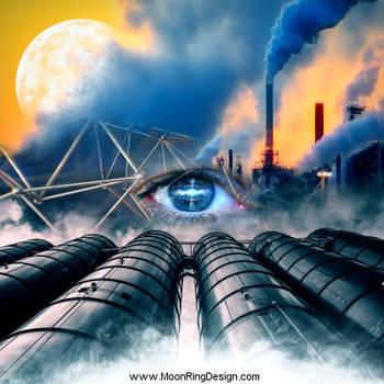 Nuclear-dawn-cd-cover-album-artwork-design-metal-d by MOONRINGDESIGN