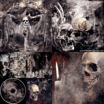 Death-altar-cd-cover-album-artwork-design-metal-do by MOONRINGDESIGN