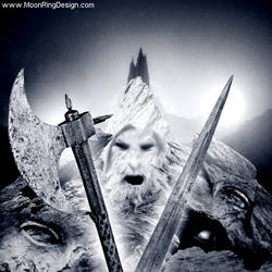 Mountain-king-face-angry-black-metal-front-cover-a