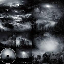 Forest-space-atmospheric-dark-black-metal-cover-al