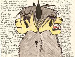 hero vs monster by MIRAGEasil