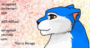 Mirage in Paint by MIRAGEasil