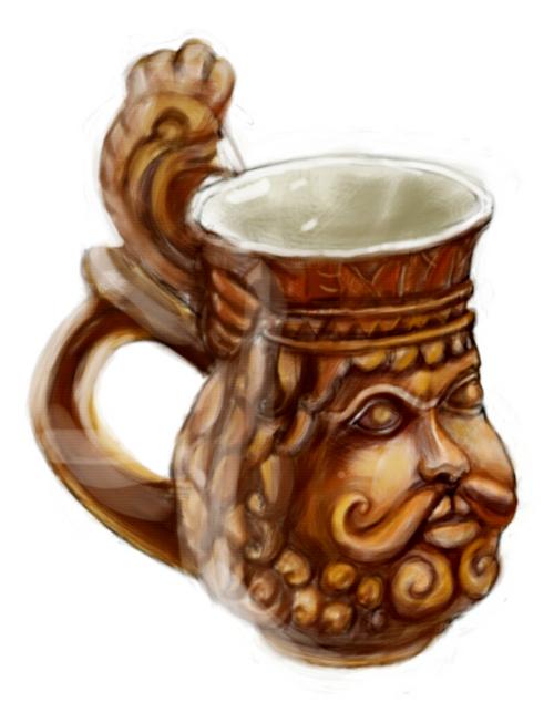 mug face by hrum