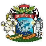 coat of arms for science  by hrum