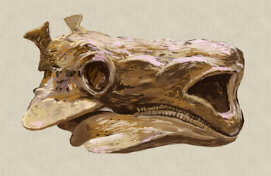 old creature by hrum