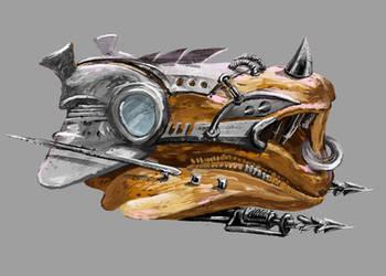 steel creature by hrum