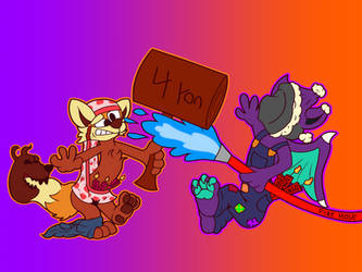 Toon fight!