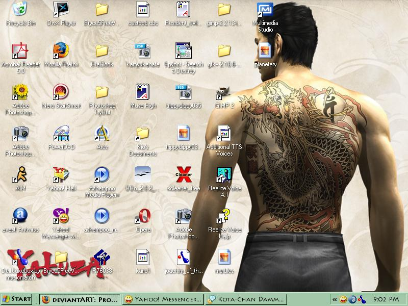 My Current Desktop by TheOneCalledNio