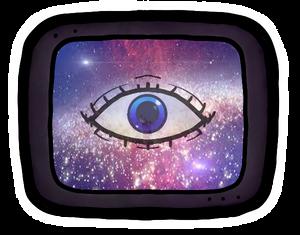 eye tv sticker