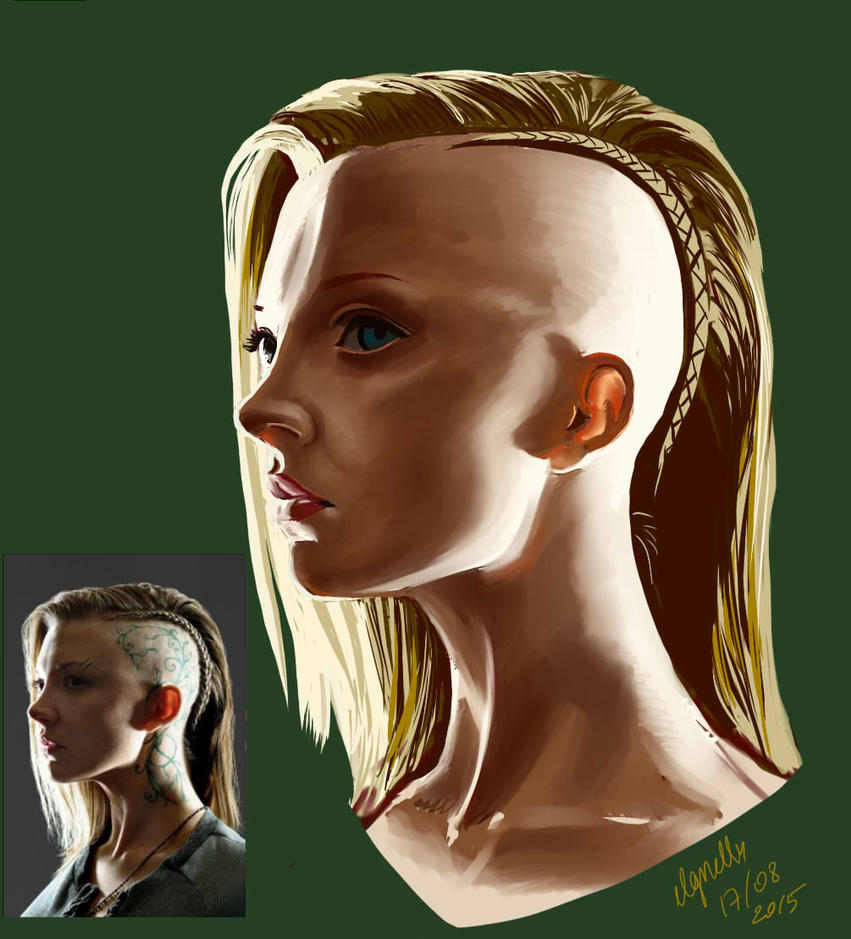 30 Famous Faces Challenge, Day 2 - Natalie Dormer by ElGrell