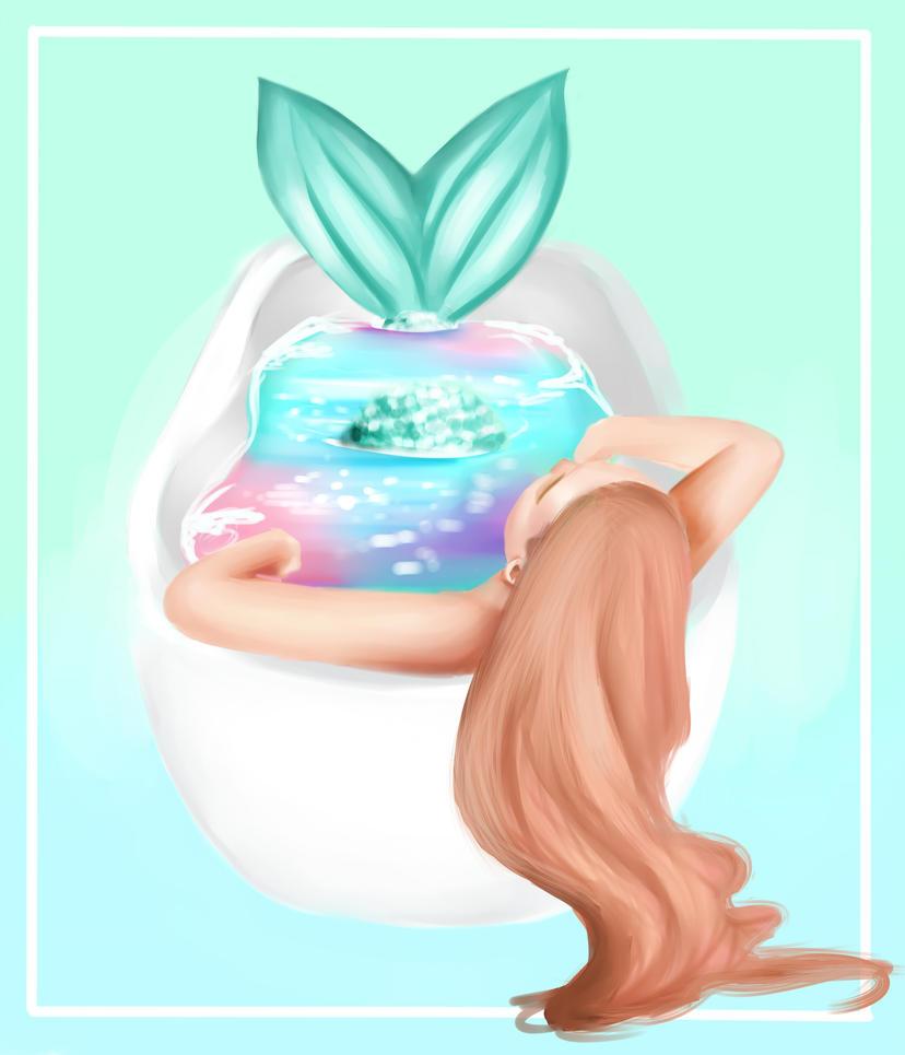 Galaxy Bath Bomb by EllenCrissy