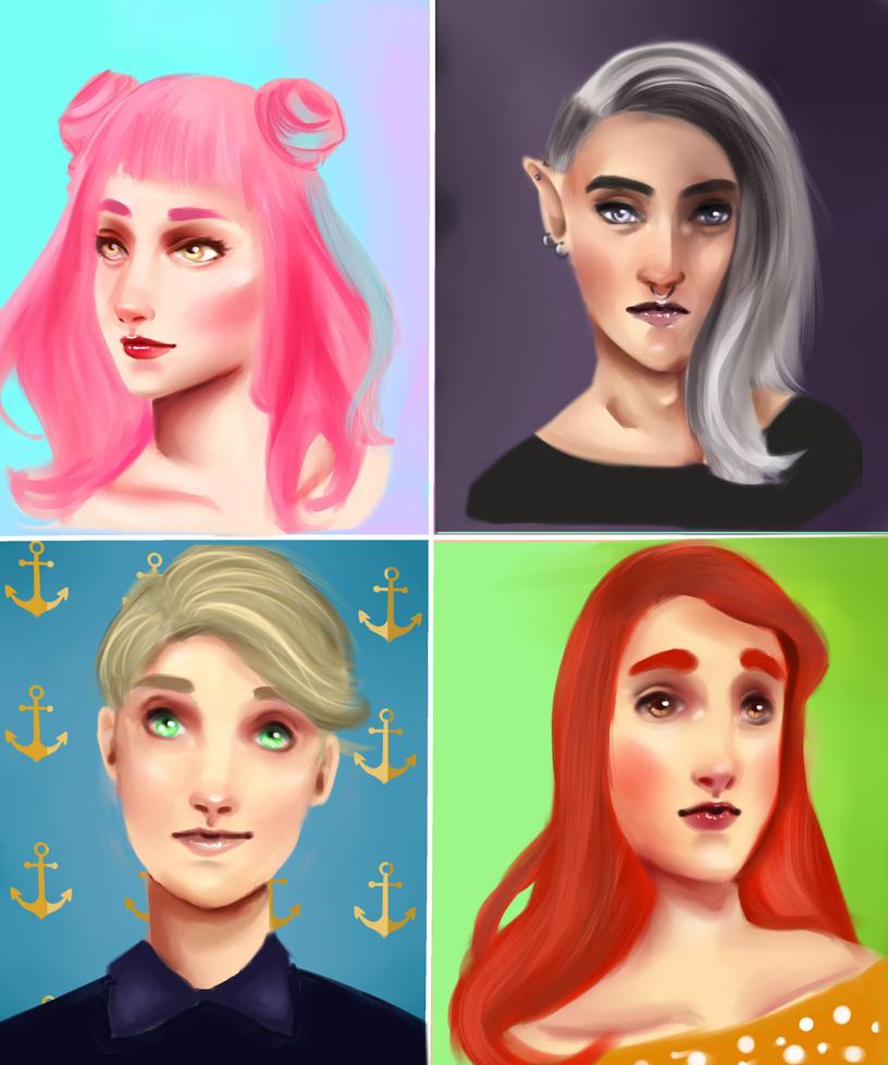 Portraits by EllenCrissy