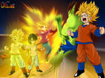 Wallpaper Dragon Ball Pan SSJ