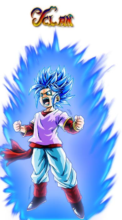 Pan Super Saiyajin God Super Saiyajin v.1